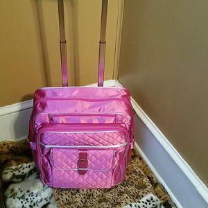 Handbags - Craft Bag on Wheels NWOT